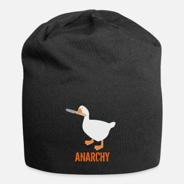 Goose Untitled Goose Game Anarchy - Beanie