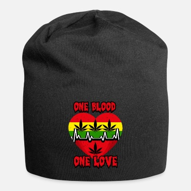 Irie one blood one love, reggae, rastafari - Beanie