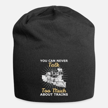 Training Trains trains - Beanie