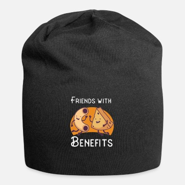Mac Friends with Benefits | Cheese Macaroni Funny Gift - Beanie