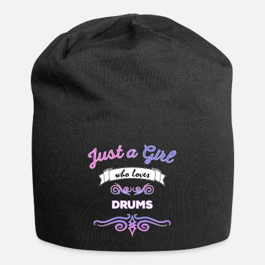 Just a Girl who Loves Drums - Beanie