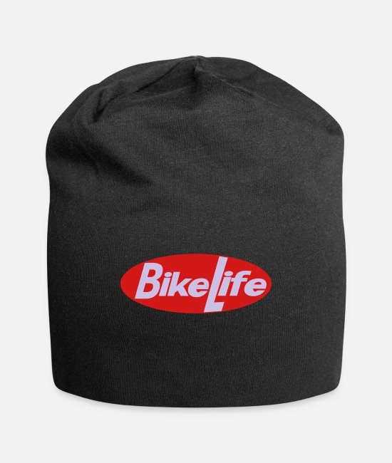 Bike Life Caps & Hats - bike life oval - Beanie black