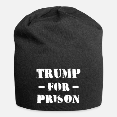 Stencil trump for prison impeachment president usa - Beanie