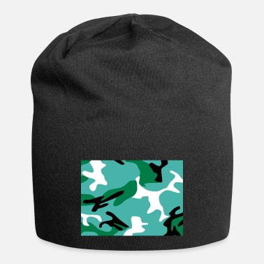 Turquoise Turquoise Camouflage - Beanie