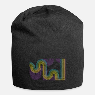 Abstract Music Abstract Waves - Beanie