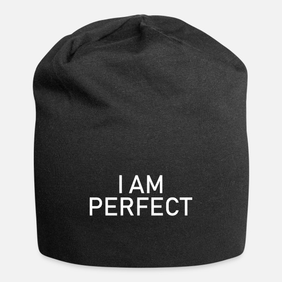 I Am Caps - I am perfect - I´m perfect - Beanie black