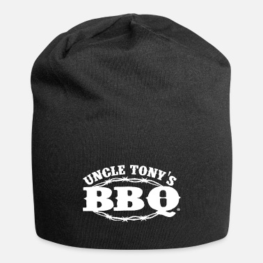 Uncle Uncle Tony's Barbecue (BBQ) Logo - Beanie