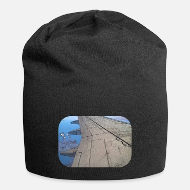 Baltic Sea Airplane Over Sea - Beanie