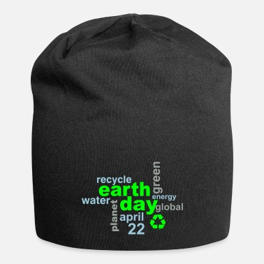 Day Earth Day Words - Beanie