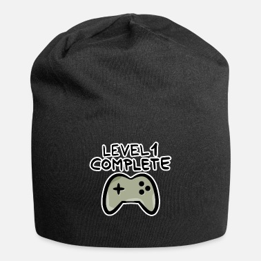 Birthday Level 1 complete 1 birthday game console - Beanie