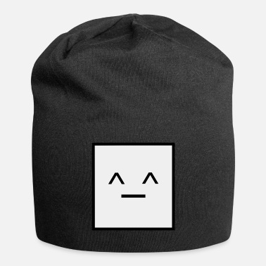 Square Square, it is a Square- Geometric Square happy - Beanie