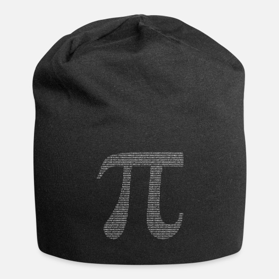 Pi Caps - Numbers Of Pi - Beanie black