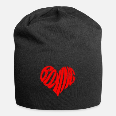 Boxing Legend Boxing Sport Player I Boxing Revision Heart - Beanie