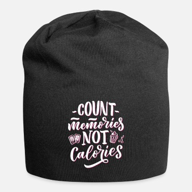 Count Royal Count memories not calories - Beanie