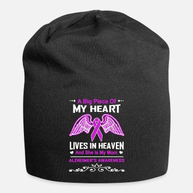 Heaven Alzheimer's Awareness My Mom Lives In Heaven - Beanie
