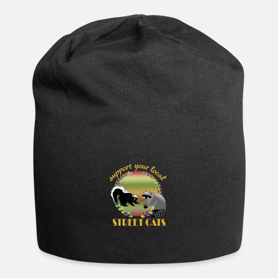 Street Dance Caps - Street Cats - Beanie black
