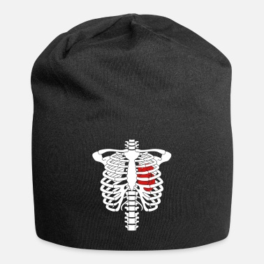 Human Anatomy Skeleton heart - Beanie