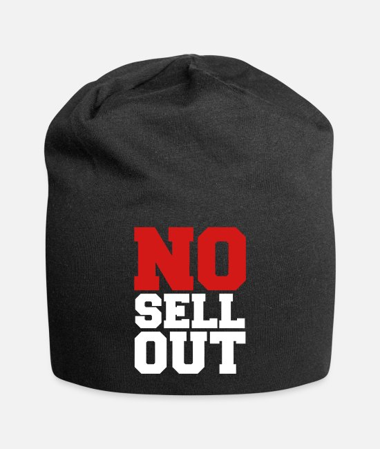 Counter Culture Caps & Hats - NO SELL OUT - Beanie black