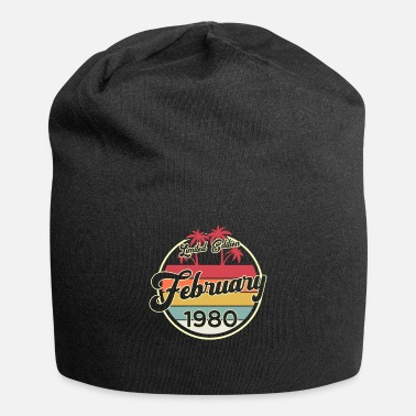 Established Vintage 80s February 1975 45th Birthday Gift Idea - Beanie