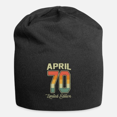 Since Vintage 50th Birthday April 1970 Sports Gift - Beanie