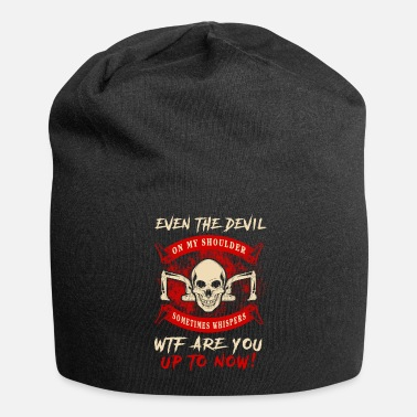 Heavy The Devil Heavy Equipment Operator T-Shirts - Beanie