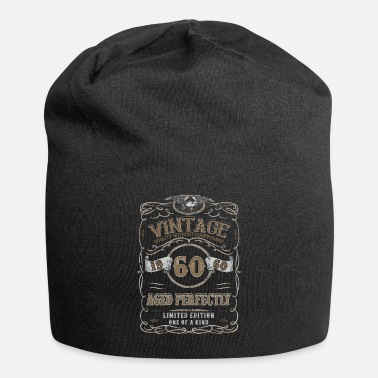 Since 60th Birthday Gift Gold Vintage 1960 Aged - Beanie