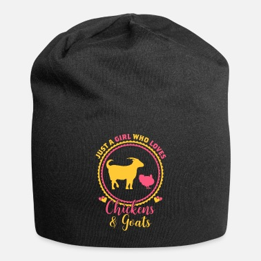 Just Just A Girl Who Loves Chickens And Goat - Beanie
