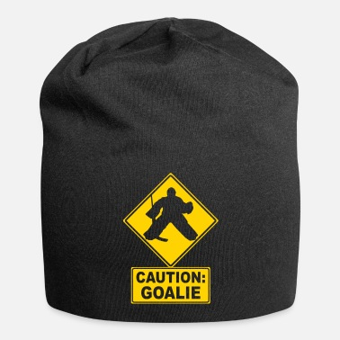 Hockey Caution: Hockey Goalie - Beanie