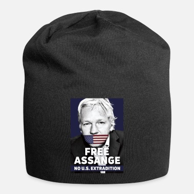 Assange Case Free Assange - No US extradition - Beanie