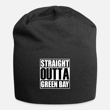 Greenbay Latest Design tagged as a Straight Outta GreenBay - Beanie