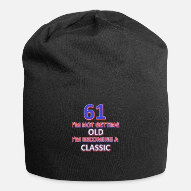 61. Birthday 61 birthday design - Beanie