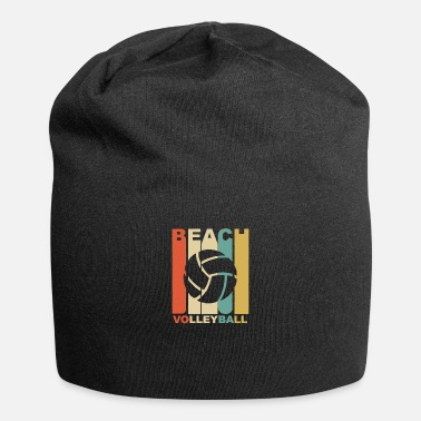Beach Volleyball Vintage Beach Volleyball Graphic - Beanie