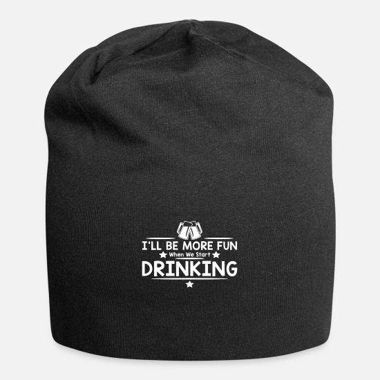 Movie Caps - START DRINKING - Beanie black