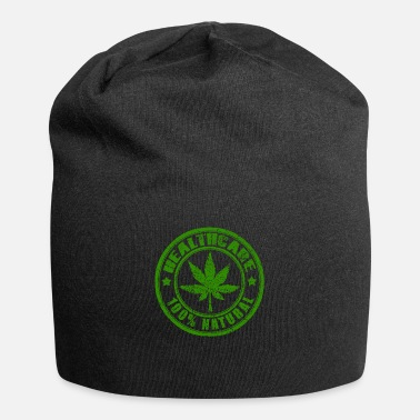 Ganja Healthcare THC Cannabis Natural Hemp Leaf T-Shirt - Beanie