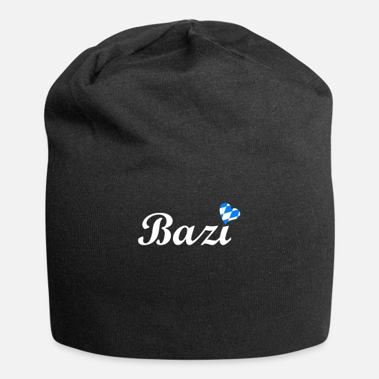 Gift Idea Caps - Bazi Bavarian dialect - Oktoberfest - Beanie black