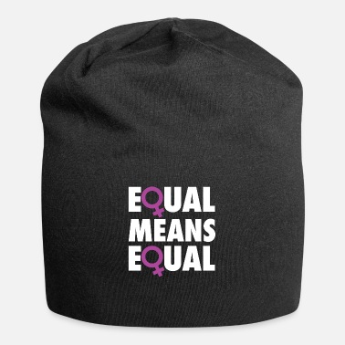Equalizer Equal Means Equal - Beanie