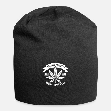 Production Year Natural Product Medical Marijuana - Beanie