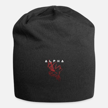 Call of the alpha howling wolf - Beanie
