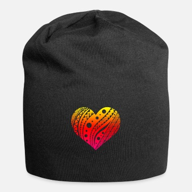 Tribal Tattoo Samoan Fatu Heart Tribal Tattoo Gift Idea - Beanie