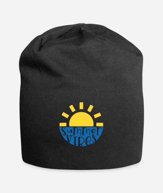 Brilliant Caps & Hats - Summer Vibes - Beanie black