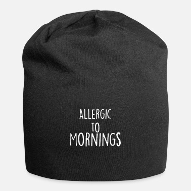 Allergic To Morning - Beanie
