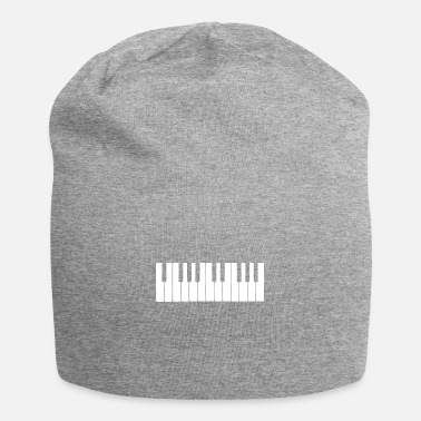 Holiday Piano Keys Keyboard Musician Music Lover Gift Idea - Beanie