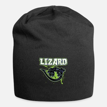Lizard_with_text_16 - Beanie