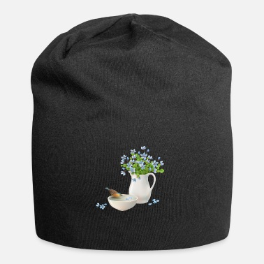 Jug Jug of flowers - Beanie