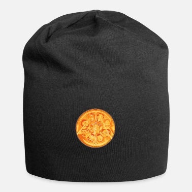 Golden Coin Fortuna Coin - Beanie
