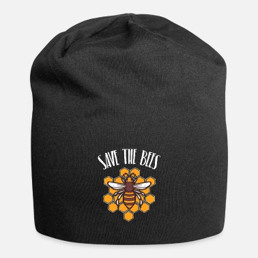 Save Save the bees in a honeycomb - Beanie