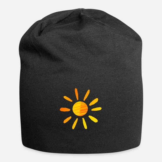Music Caps - Sunny With a Chance of Kindness - Beanie black