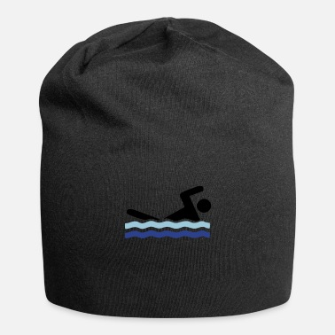 Stroke Swimmer (custom colors) - Beanie