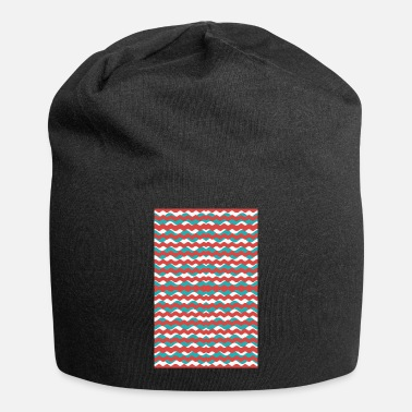 Pattern Geometric Waves Pattern - Beanie