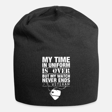 Usa my time in uniform is over veteran gift - Beanie